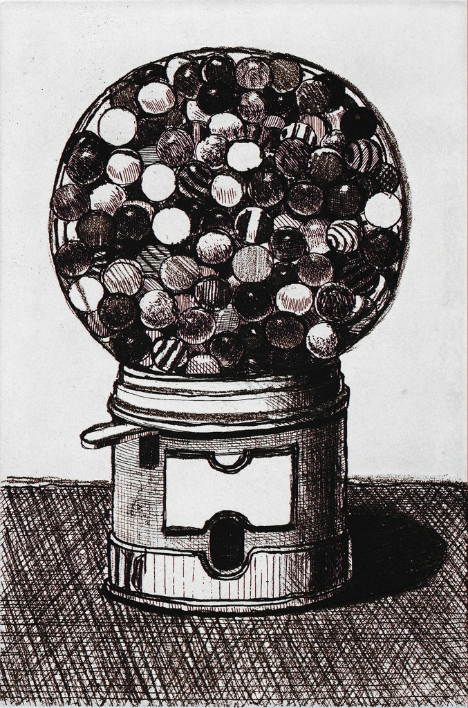 Dark Gumball Machine