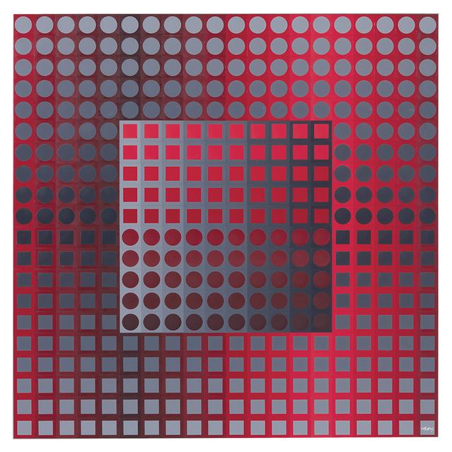 , 'KANTA ZETT RED/GREY,' 1971, Galería RGR