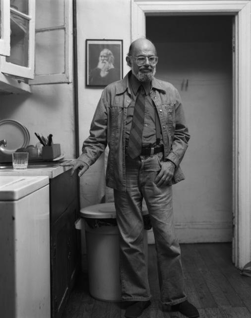 , 'Allen Ginsberg, 1995,' 2018, GRIMM