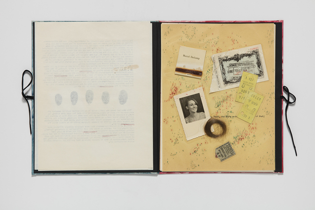 , 'Clues and Souvenirs,' 1971-1972, Honor Fraser