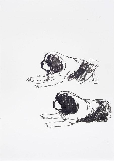 , 'Juli doppelt,' 2018, Galerie Kleindienst