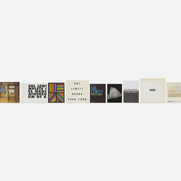 Sol Lewitt monographs, fourteen