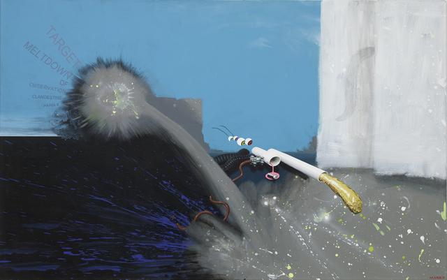 , 'Hardly Clandestine Observation of Meltdown Target,' 2015, Charim Galerie