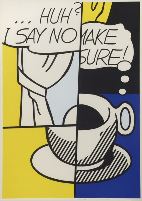 , ' I Say No… Make sure. Huh? ,' 1976, William Weston Gallery Ltd.