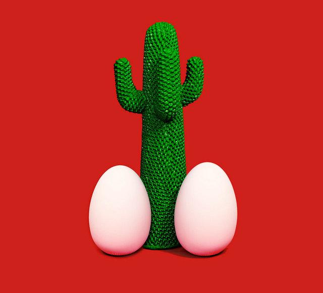 Maurizio Cattelan, 'Cactus God', 2013, Design/Decorative Art, Polyurethane foam with Guflac® finish, Frank Fluegel Gallery