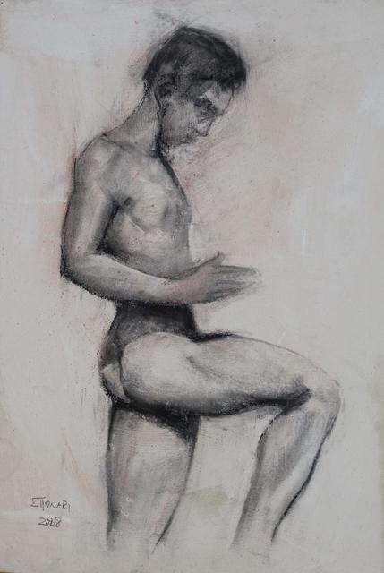 , 'Male Nude 2 ,' 2008, Galeria Canoa