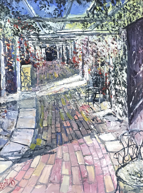 , 'Pergola & Roses,' , Beverly McNeil Gallery