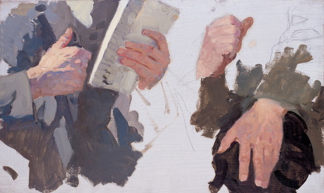 , 'Study of Hands,' 1949, Hakgojae Gallery