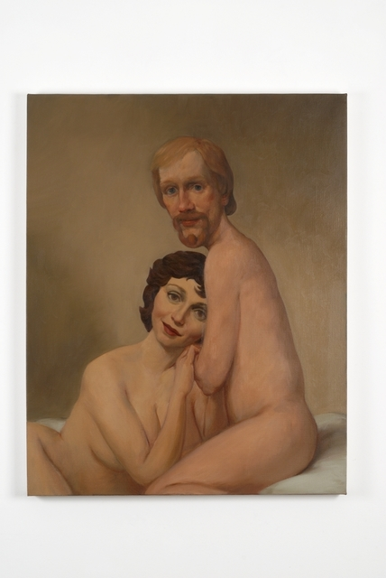 John Currin, 'Couple in Bed', 1993, Sadie Coles HQ