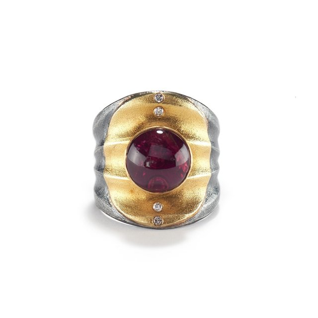, 'Tourmaline Ripple Ring,' ca. 2018, Patina Gallery