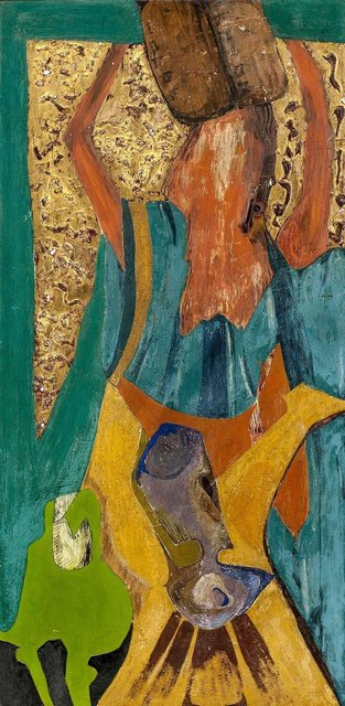 Unknown, 'Modernist Cubist Moses on the Mount', 20th Century, Lions Gallery