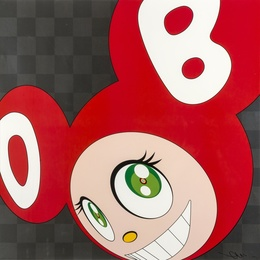 Takashi Murakami, 'And Then, And Then, And Then, And Then (Red),' 2011, Forum Auctions: Editions and Works on Paper (March 2017)