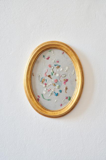 Serena Fineschi, 'The Primitives (Trash Series)', 2018, Painting, Chewing-gum, saliva, cardboard, Palazzo Monti