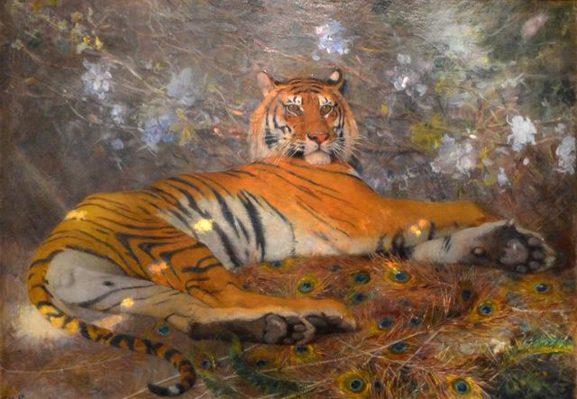 , 'Tigre de l'Annam,' 1895, Anthony's Fine Art