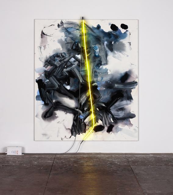 , 'night, yellow light,' 2015, David Kordansky Gallery