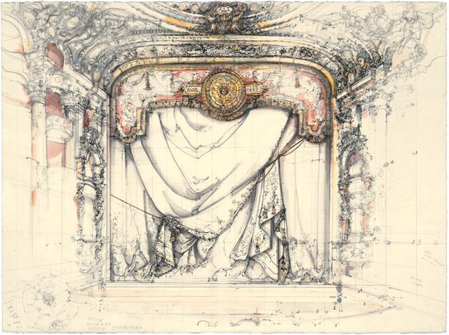 , 'The Curtain,' 2008, Koplin Del Rio