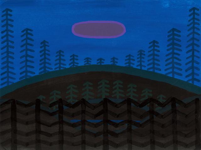 , 'Weird purple cloud at night - Bellevue, WA,' 2015, G. Gibson Gallery