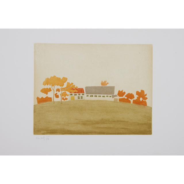 Alex Katz, 'House and Barn (Small Cuts)', 2008, Weng Contemporary