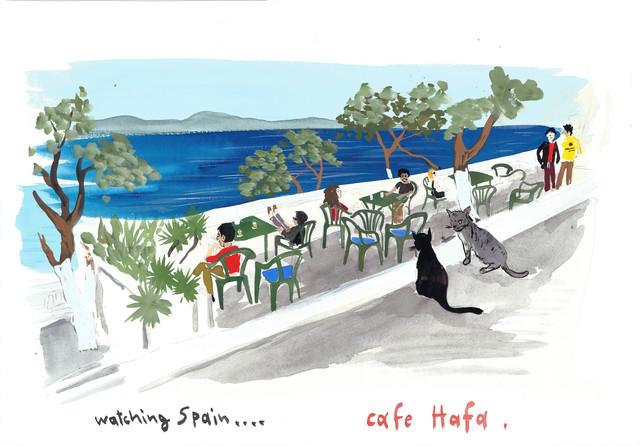 , 'Cafe Hafa,' 2013, Gavlak