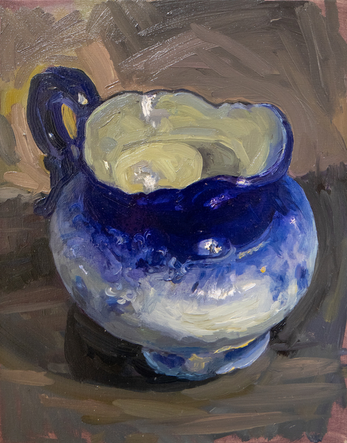 Greta Waller, 'Portrait of Flow Blue', 2018, Tayloe Piggott Gallery