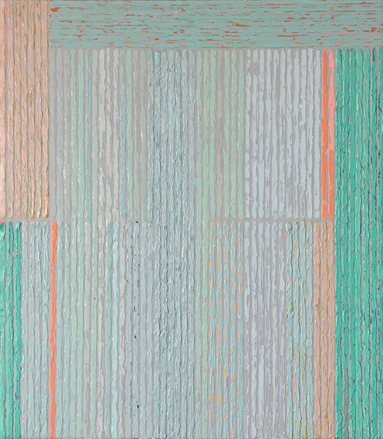 , 'Intuition With Aqua Bars,' , Nüart Gallery