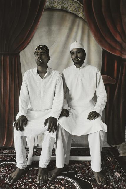 , 'Zakir and Tarif Smoking,' 2008, Tasveer