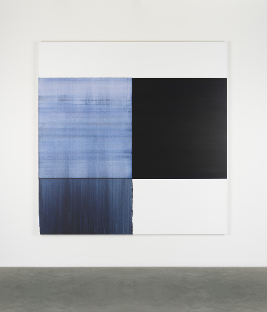 , 'Exposed Painting Oriental Blue,' 2018, Ingleby Gallery