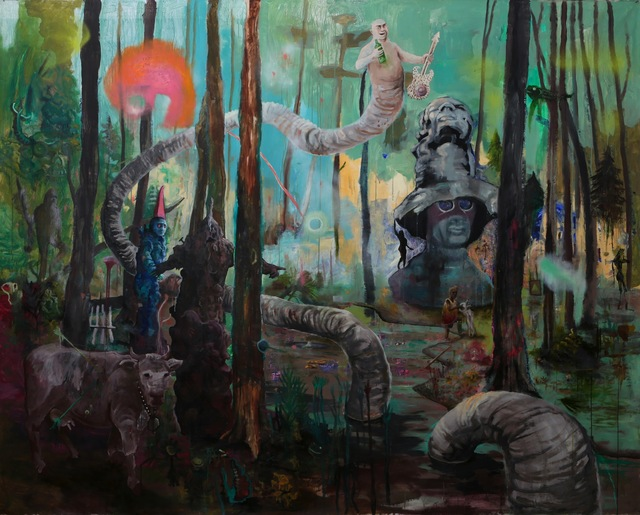 """, '""""The Drinks and the Woods"""",' 2013, Carbon 12"""