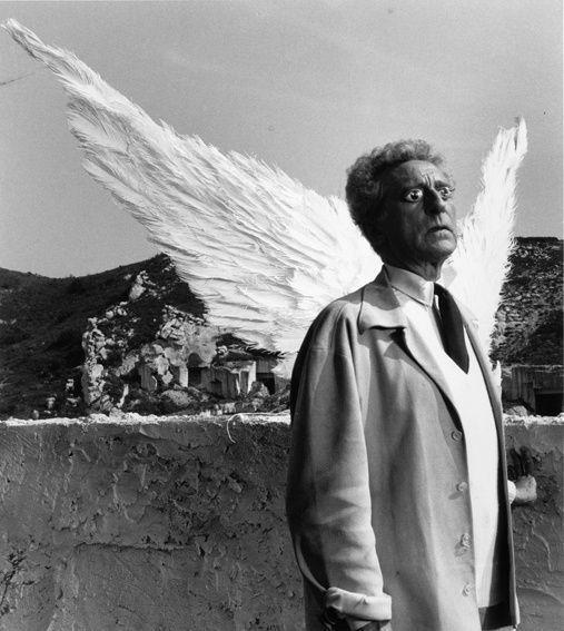 , 'Jean Cocteau et les ailes du sphinx Testament d'Orphée, Les Baux de Provence,' 1959, Bernheimer Fine Art