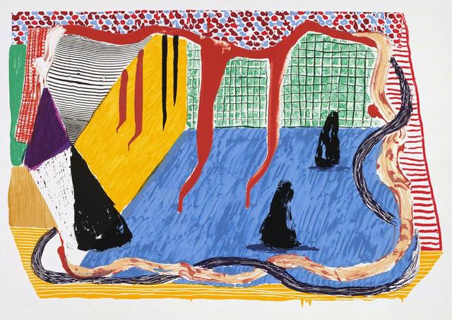 David Hockney, 'Ink in the Room', 1993, Kenneth A. Friedman & Co.