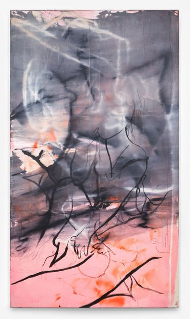 Rita Ackermann, 'Stretcher Bar Painting 4', 2015, Hauser & Wirth