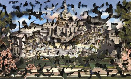 DC: De/Constructing Washington: Behind the Cherry Blossom #4