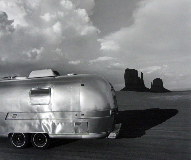 , 'Airstream at Monument Valley, Arizona,' 1979, PDNB Gallery