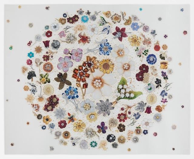 , 'Double Jewelled Wreath ,' 2017, Dolan/Maxwell