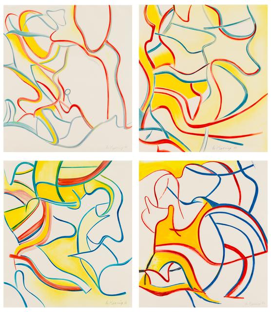Willem de Kooning, 'Quatre Lithographies', 1986, Susan Sheehan Gallery
