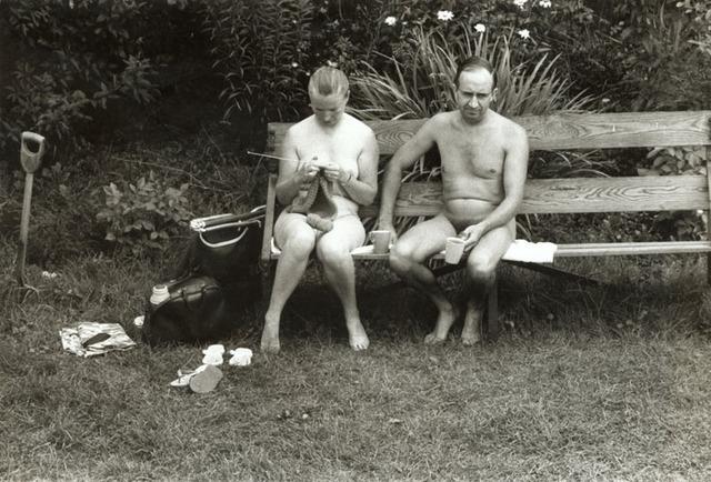 Elliott Erwitt, 'Nudists on Ile du Levant, France', 1968/1968, Contemporary Works/Vintage Works