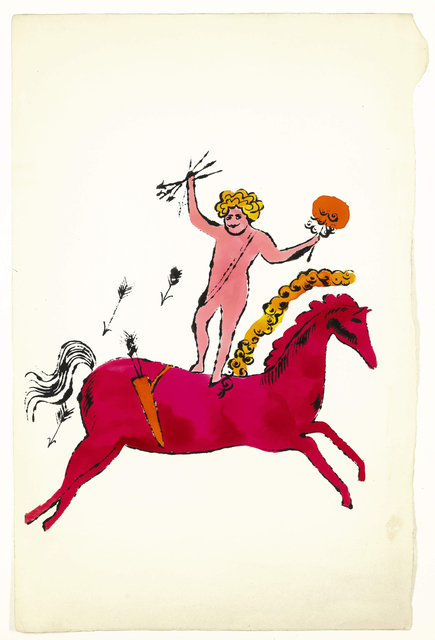 Andy Warhol, 'Angel and Horse, (SEE F. & S. IV.91A) ', ca. 1950, Andipa