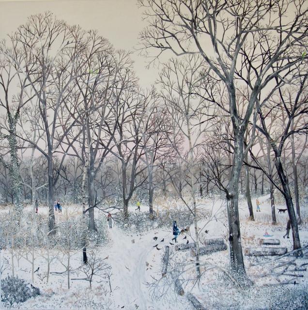 Emma Haworth, 'Winter Snow I', 2018, Rebecca Hossack Art Gallery