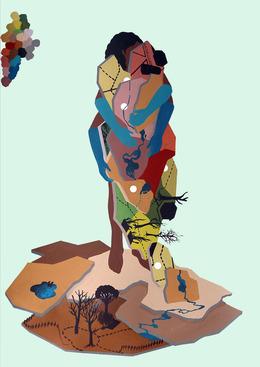 , 'The embrace,' 2014, In Situ - Fabienne Leclerc