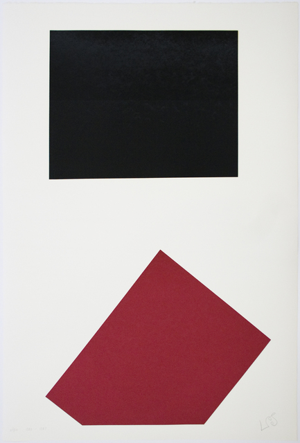 Leon Polk Smith, 'Werkubersicht/Work-Overview J', 1983-1987, Betsy Senior Fine Art