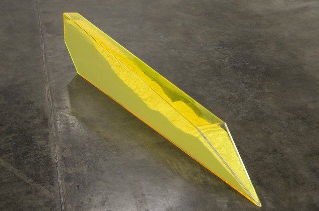 , 'Particle Dispersion: Nano Yellow,' 2013, Shoshana Wayne Gallery