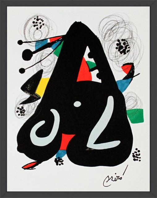 Joan Miró, 'Untitled from La Melodie Acide XIII', 1980, ArtWise