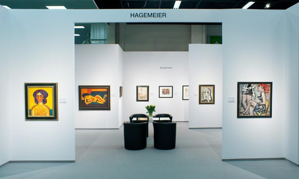 Kunsthandel Hagemeier, Messehalle 11.1, Stand B-001