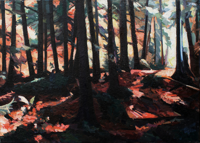 , 'Fall Light,' 1997, Wallace Galleries
