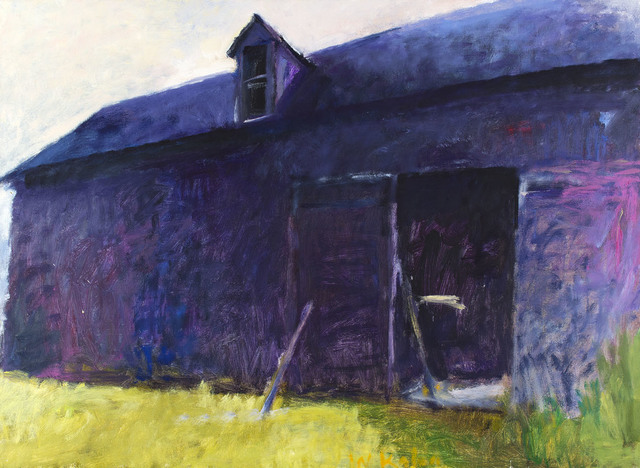 , 'BARN AGAINST THE SUN #2,' 1985, Jerald Melberg Gallery