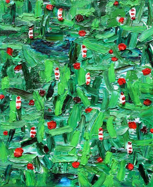 Nicola De Maria, 'Muse del bosco aiuto. Voce del bosco che canta', 2002, Ambrosiana Casa d'Aste