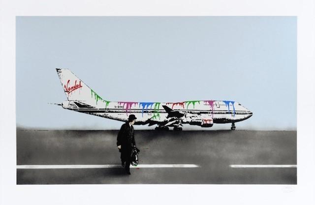 Nick Walker, 'Vandal Airway', 2008, Print, Screenprint in colors on paper, DIGARD AUCTION