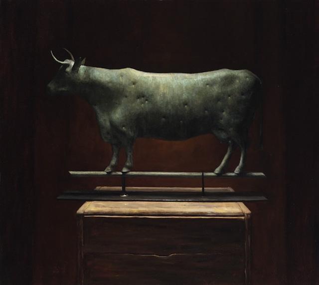 , 'Antique Cow Weathervane,' 2011, Grenning Gallery