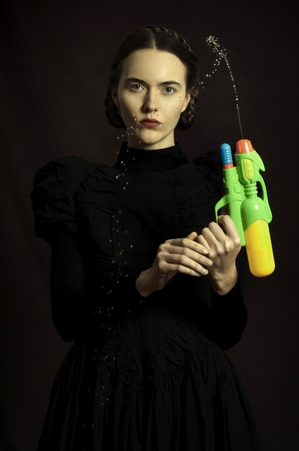 Romina Ressia, 'Woman with a water pistol', 2014, Arusha Gallery