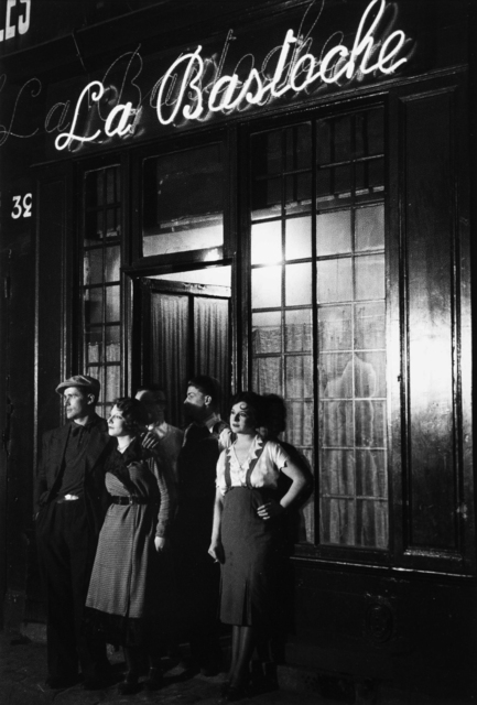 Brassaï, 'Un Bar Rue de Lappe (La Bastoche)', ca. 1932, Holden Luntz Gallery